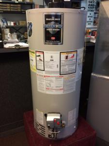 standard hot water tanks